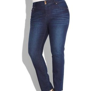 Lucky Brand Emma Straight Dark Wash Jeans